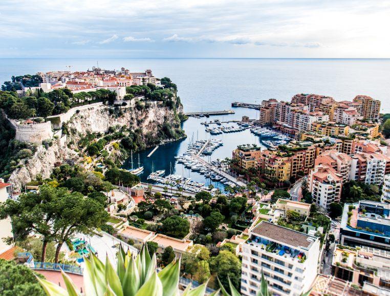 Monaco vue du ciel