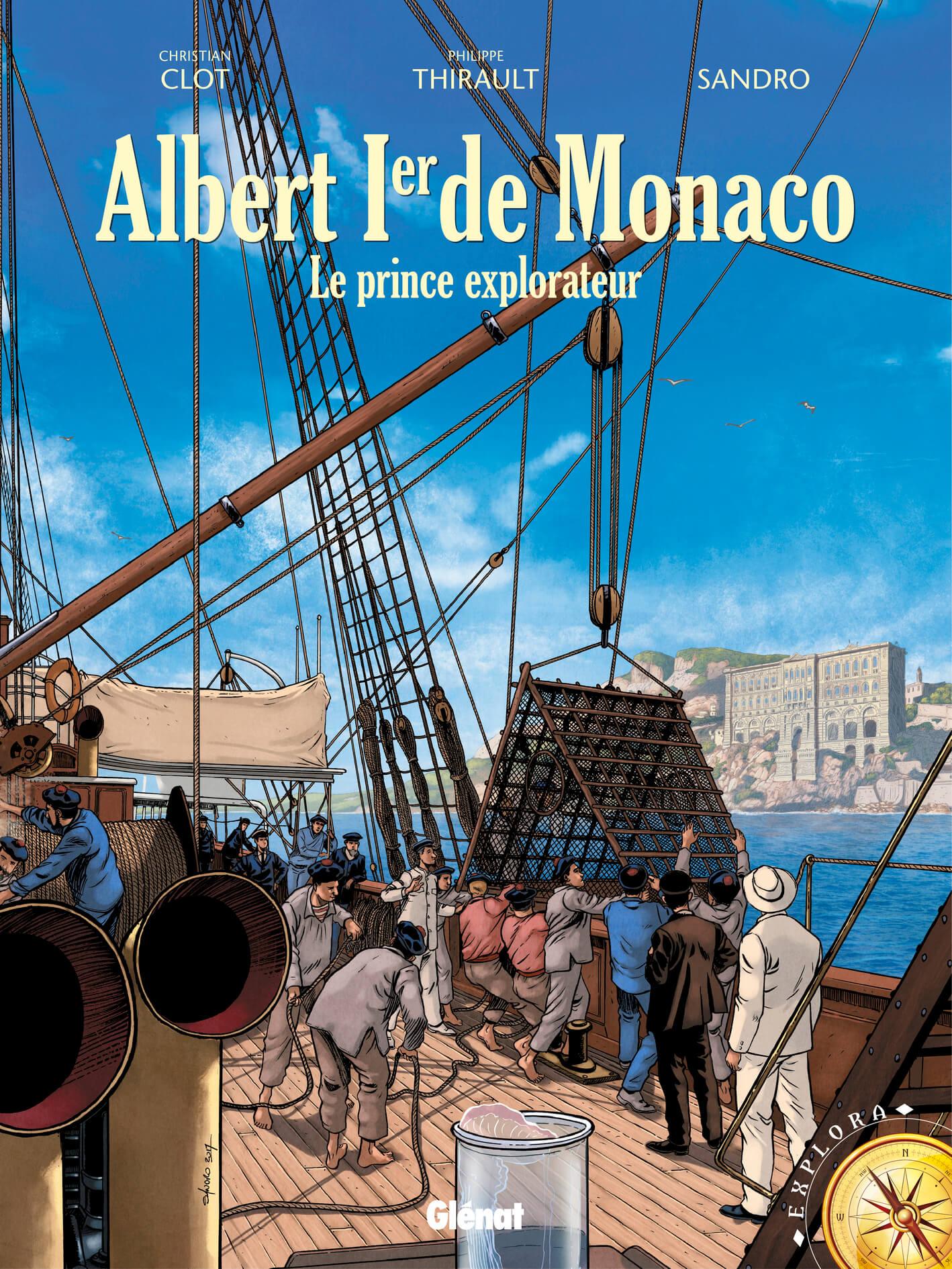 Couverture BD Albert Ier de Monaco