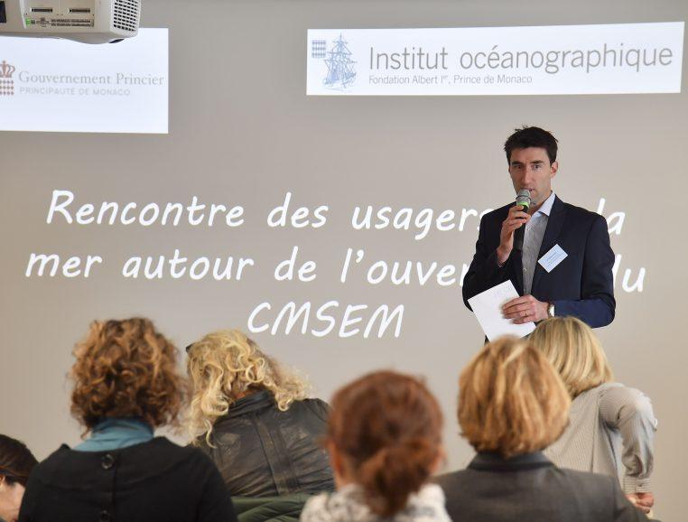 OIivier Brunel - Chef du service aquarium du MOM © Direction de la Communication - Michael Alesi