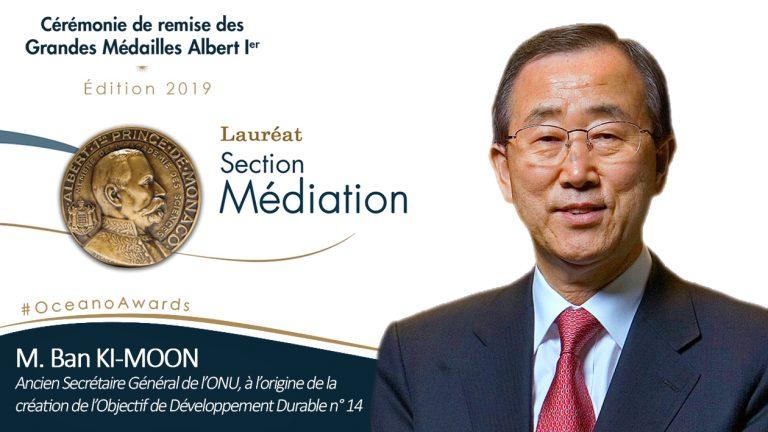 Couv BanKiMoon Medaille 2019