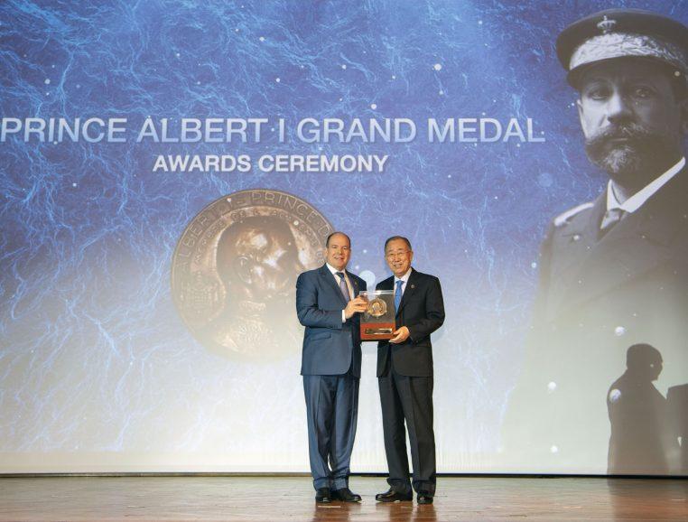 Cérémonie des remises de la médaile Albert Ier