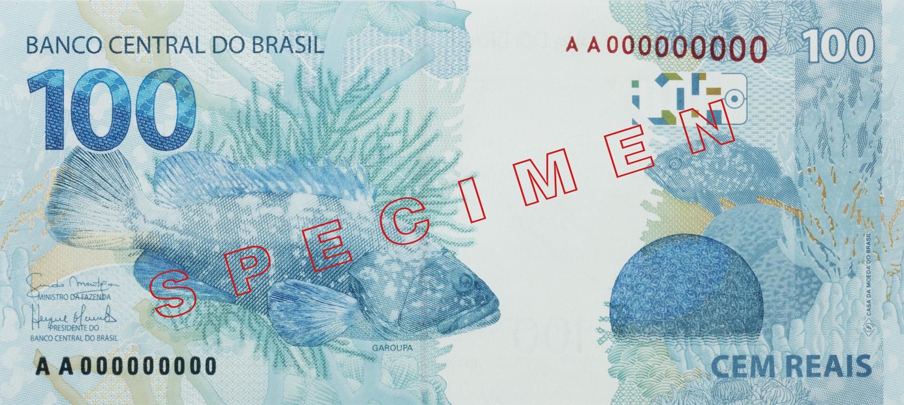 Brasil Billet 100 reais