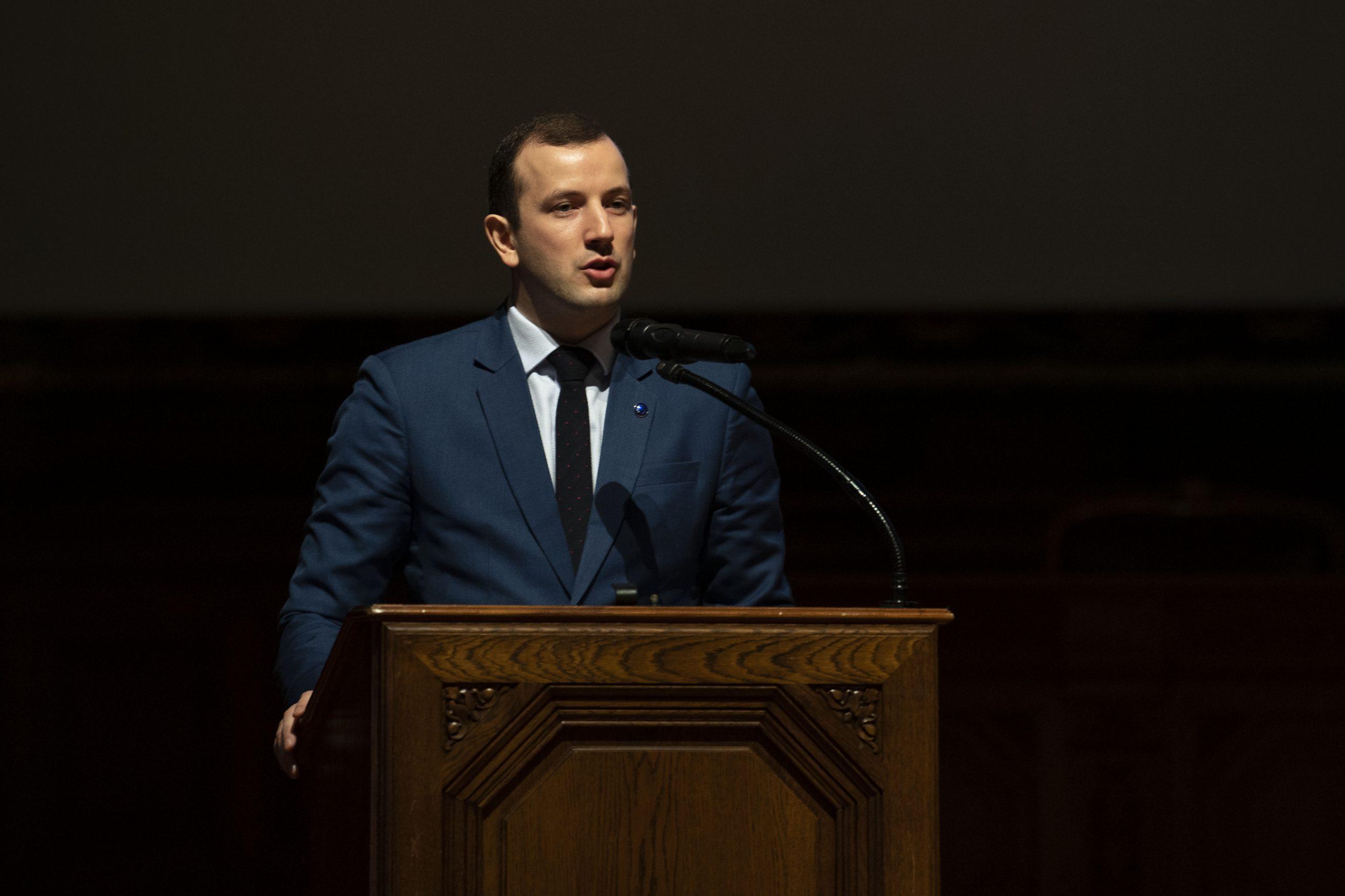 Virginijus Sinkevičius, Commissaire européen à l'environnement, aux océans et à la pêche