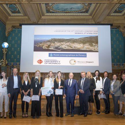 Présentation Awards Monaco Ocean protection challenge ©M.Dagnino