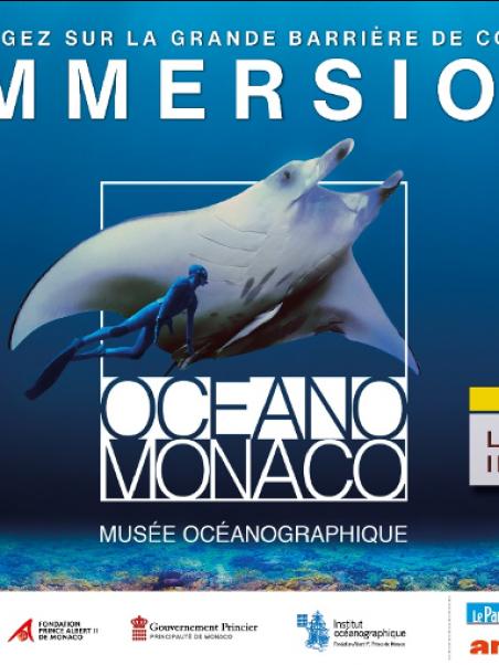 Affiche IMMERSION Musée Océanographique