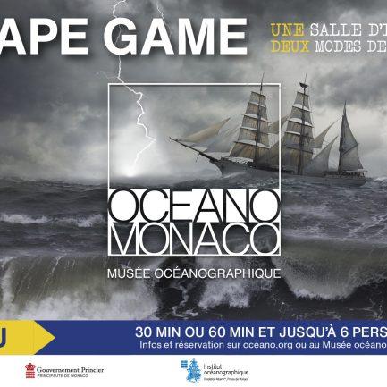 Affiche Escape Game Musée Océanographique
